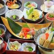 金目鯛や旬の食材を使った大満足の『華コース』